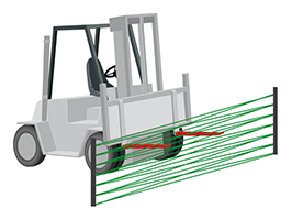 DEGI drawbar detection installation detection fork lift